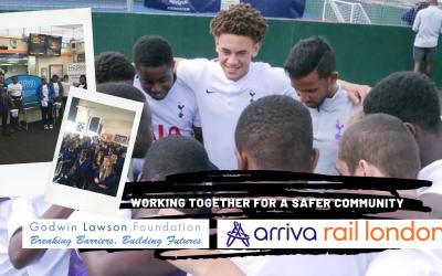 Godwin Lawson Foundation Announces New Partnership with Arriva Trains